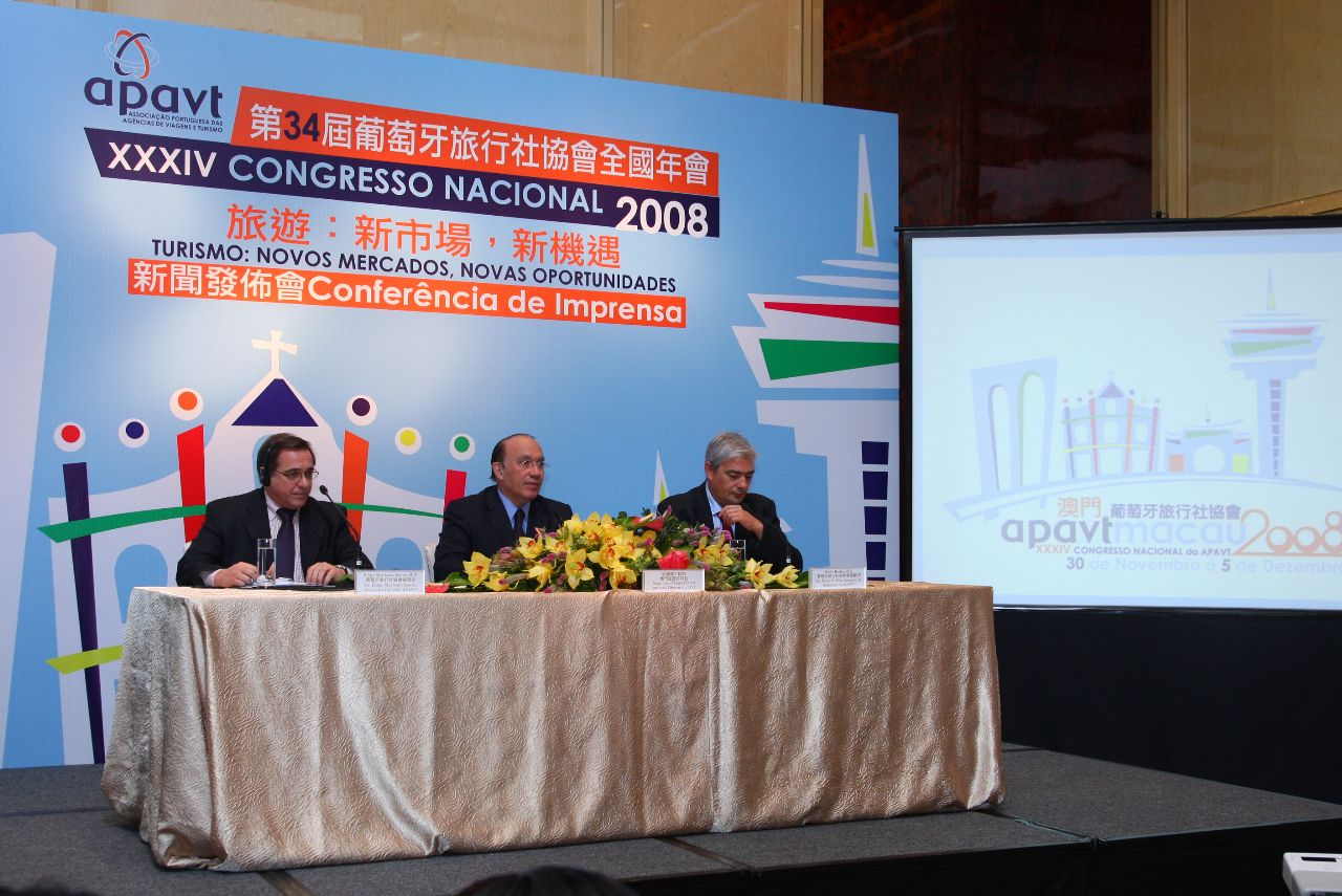 Tourism of Portugal representatives meet in Macau and look to China