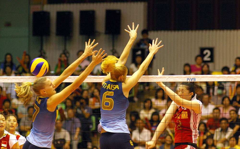 Brazil beat China and claims title of women's volleyball GP Macao leg