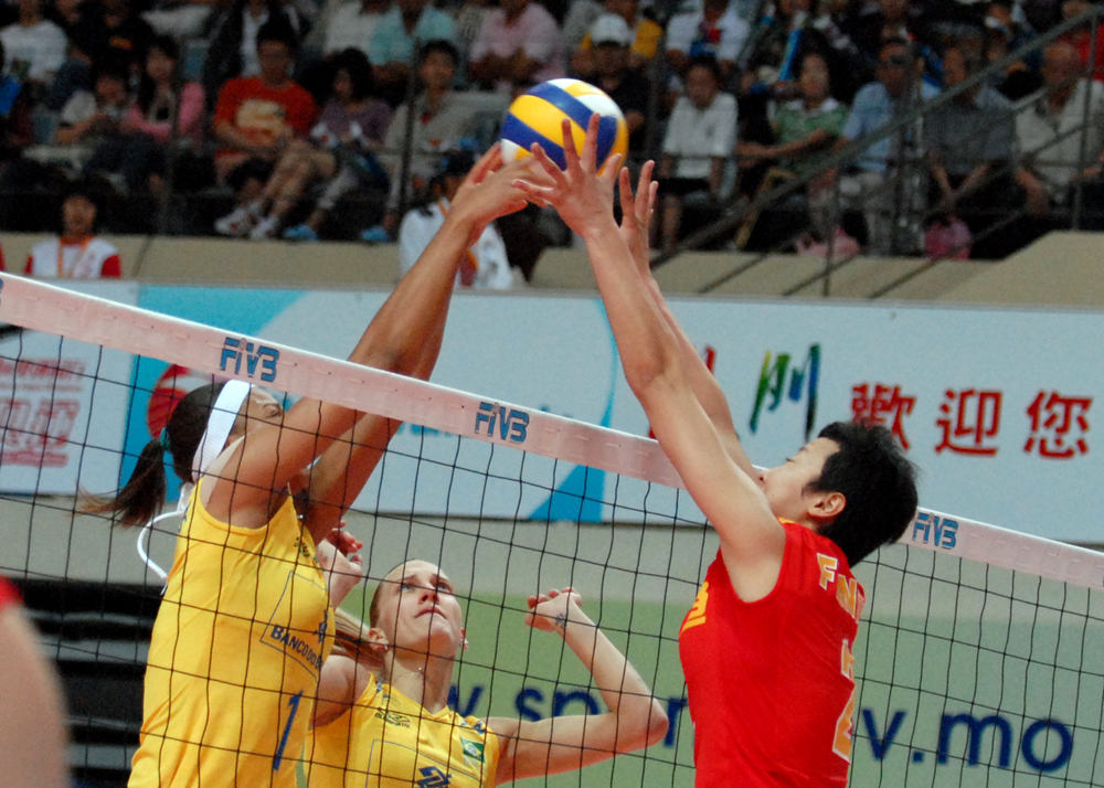 Brazil, China, Poland and Thailand compete in Macau for world volleyball title
