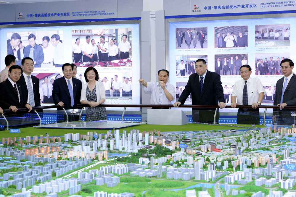 Chief Executive of Macau visit cities in the Pearl River Delta