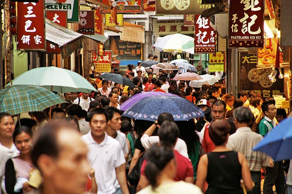 Macau population estimate is not official target