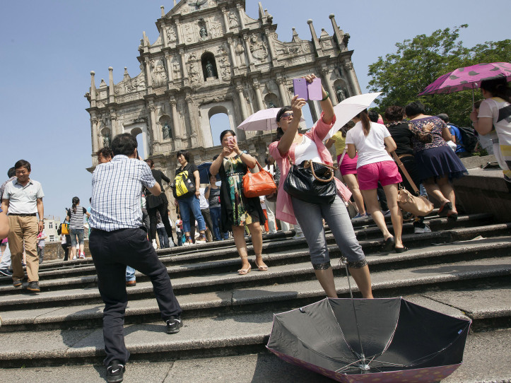 Macau's visitor arrivals drop 3 per cent in April