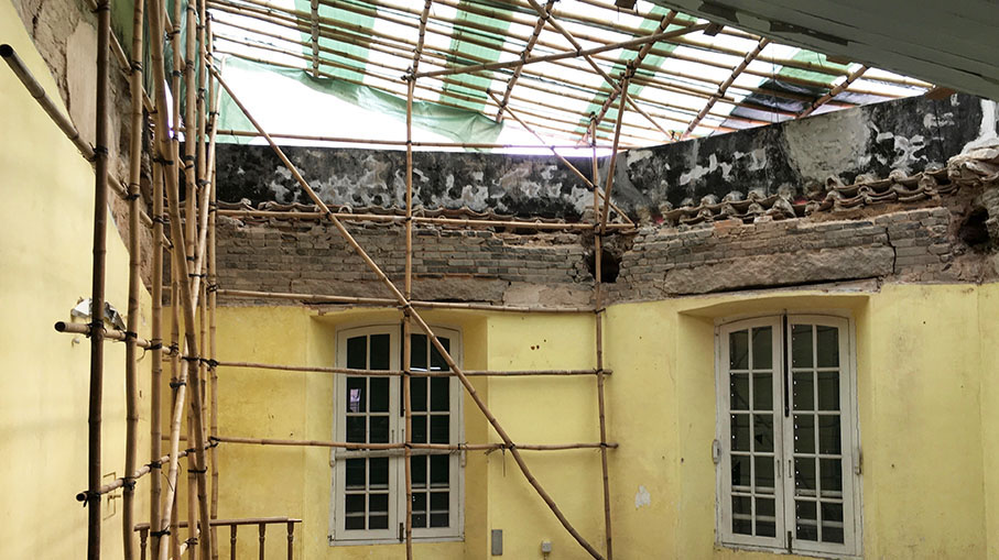 MacauSt Augustine's Church roof repairsto cost 1 million patacas: official