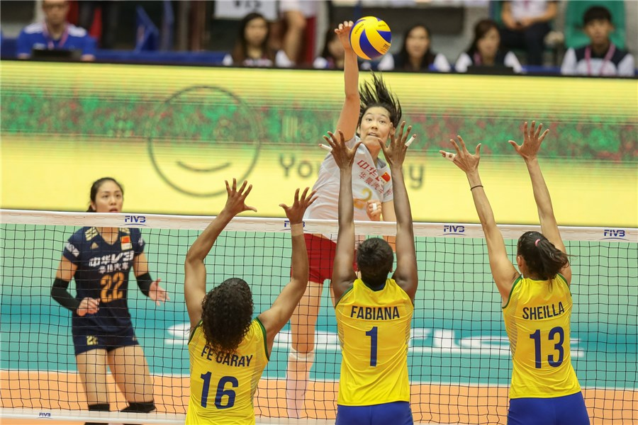 China wins the FIVB Volleyball World Grand Prix Macau 2016