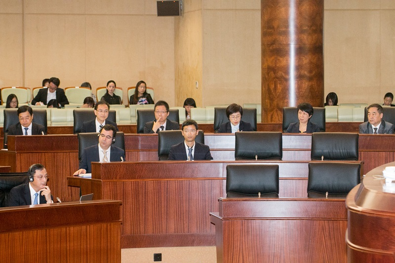 Macau lawmakers pass legislative election bill