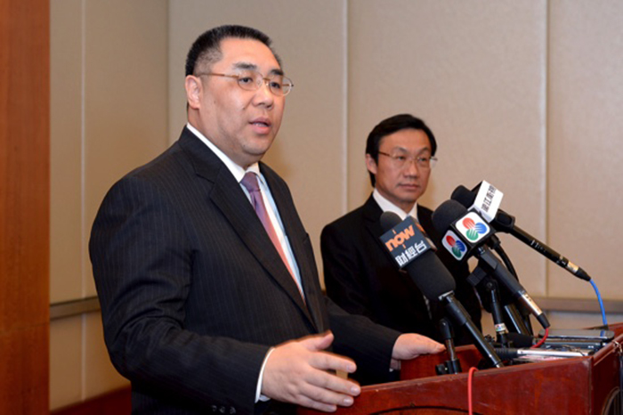 Macau Chief Executive describes Alexis Tam as 'good colleague'