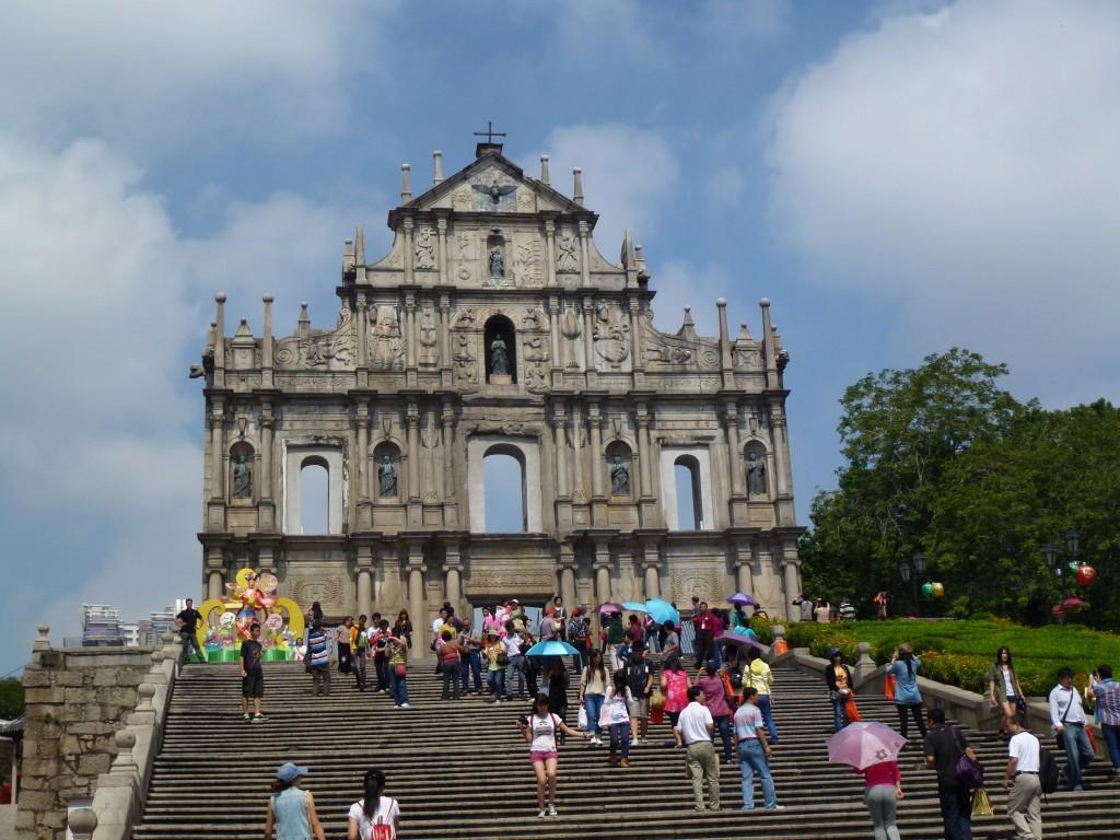 Macau's visitors rise in July