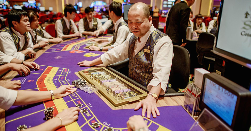 Macau casino gambling revenue shrinks 4.5 per cent in July
