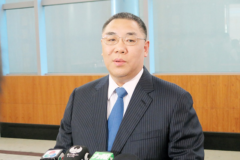 Macau Chief Executive starts visit to Portugal
