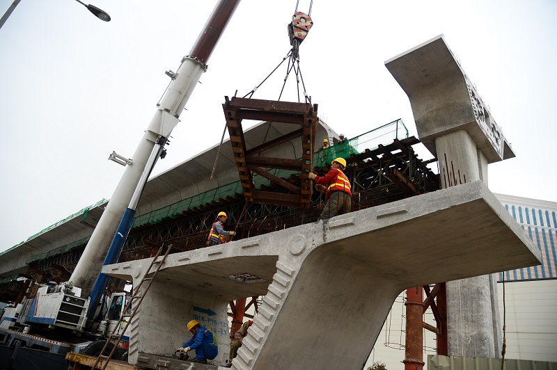 Macau governmentto pay 1 billion patacas to new contractor for LRT depot
