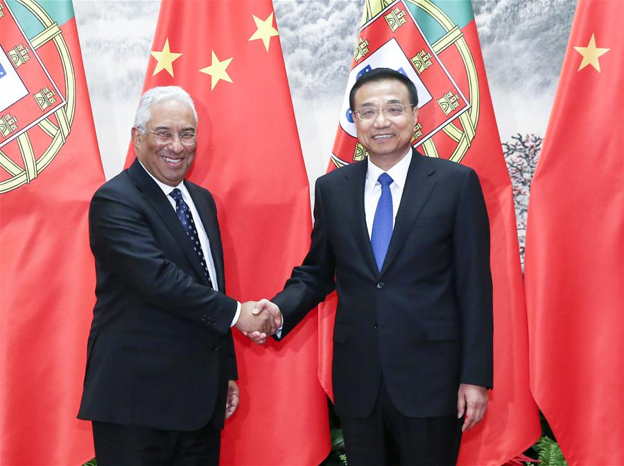 Portugal and China should promote triangular cooperation, Portuguese PM says