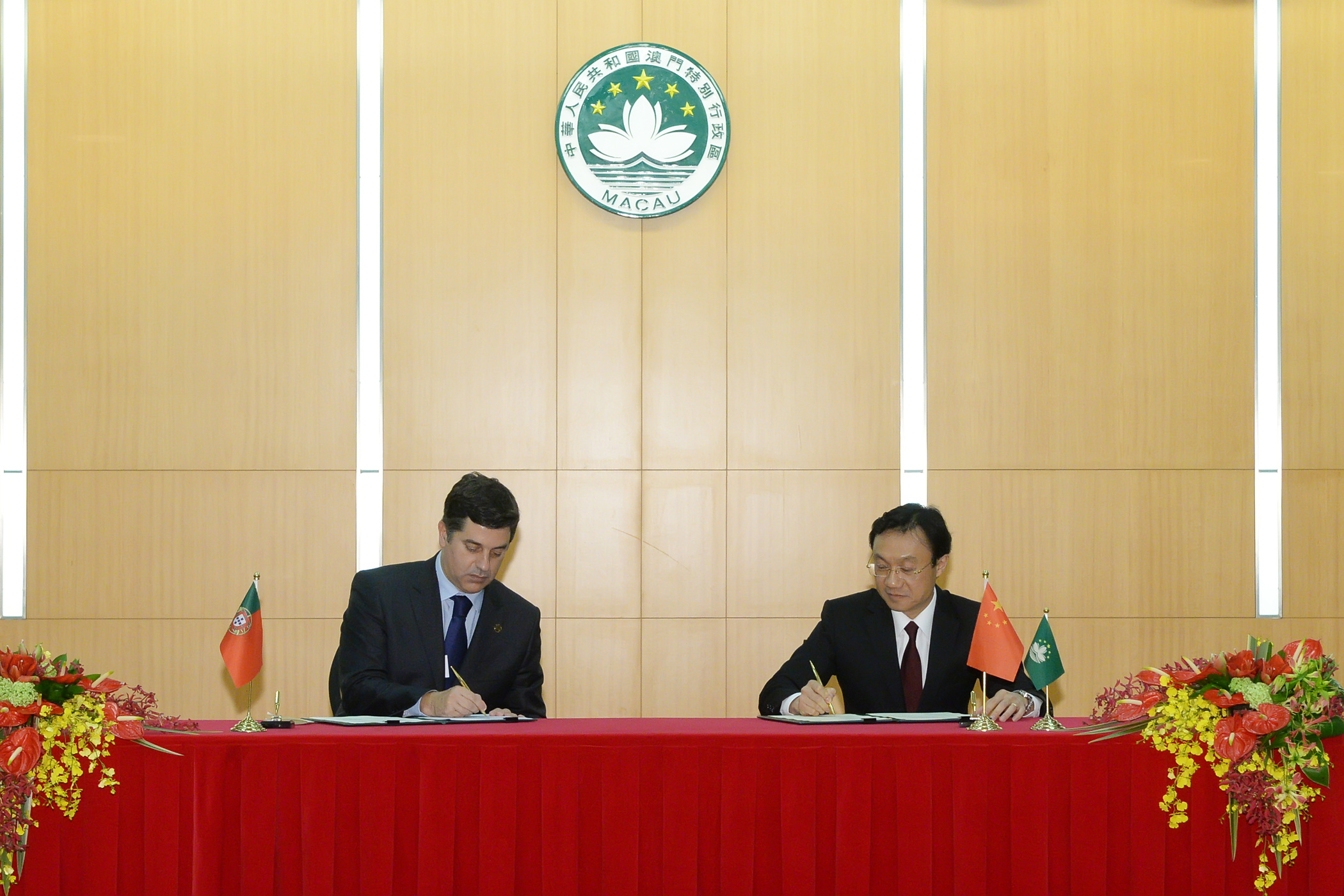 Macau and Portugal sign tourism cooperation and food security protocols