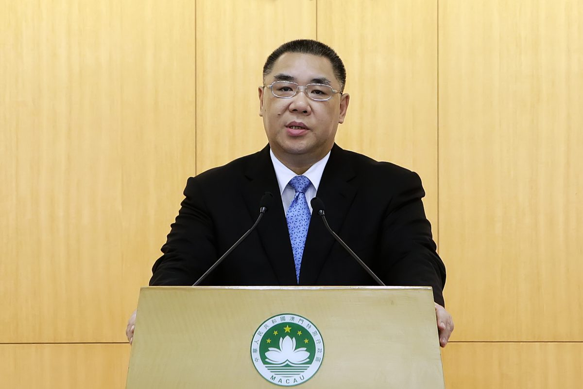 Chui stresses importance of building Macau's public housing on ex-Scala plot