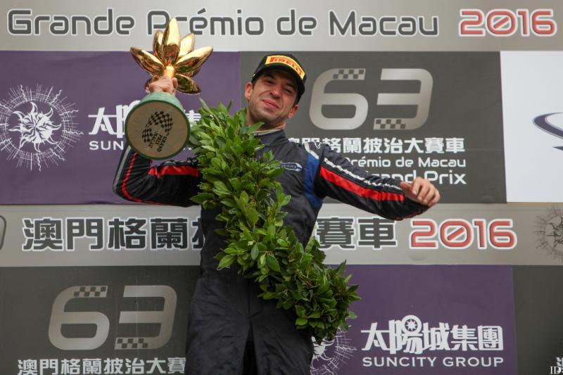 António Felix da Costa wins FIA Formula 3 Macau Grand Prix