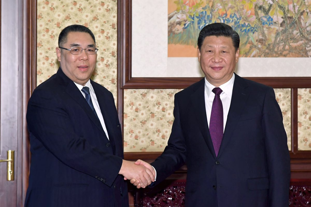 President Xi appreciates Macau's Chief Executive work