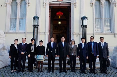 Chinese ambassador Cai Run calls for boost to business cooperation with Portugal