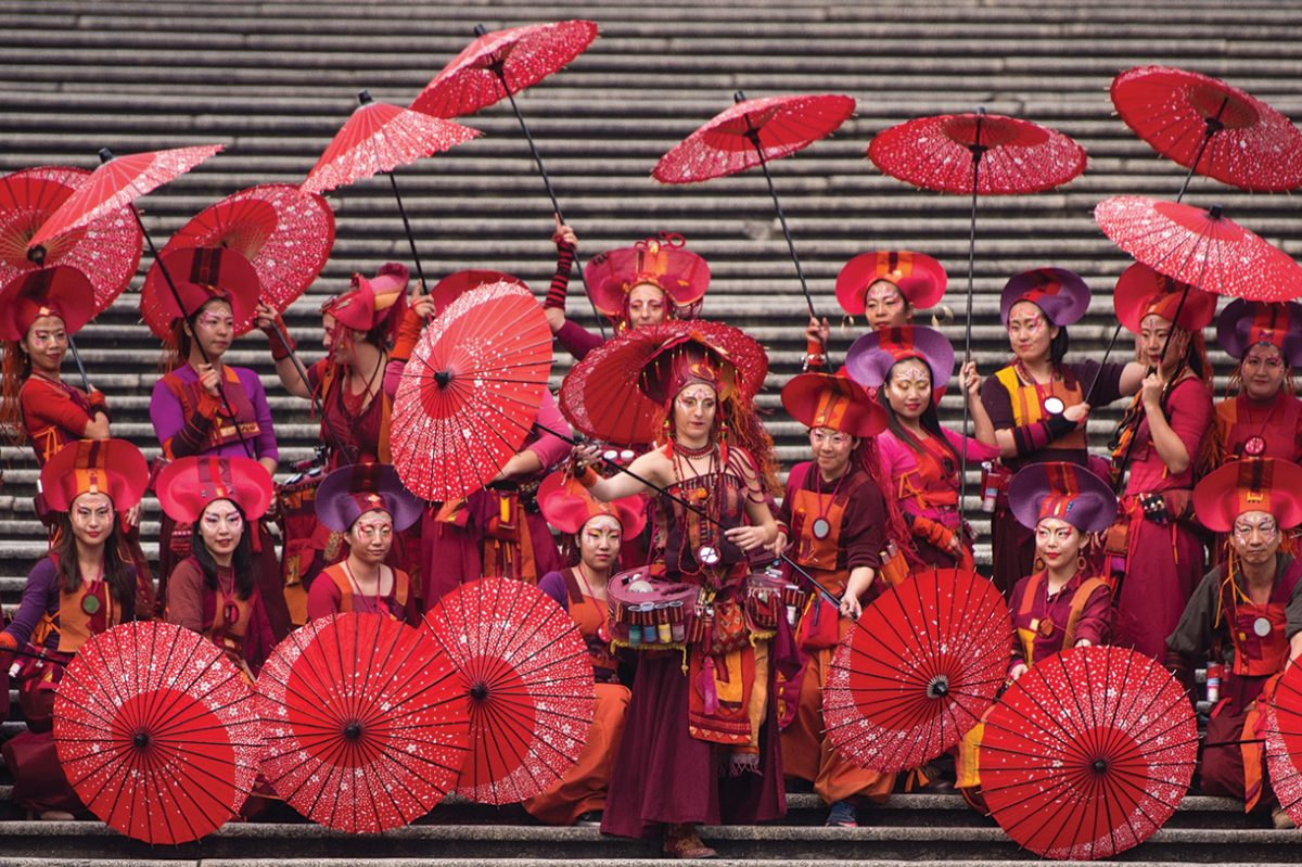Parade Through Macau: An exotic local affair