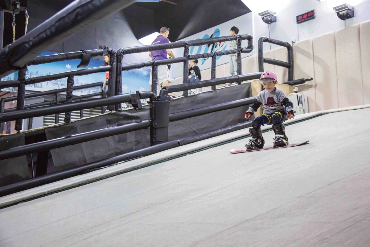 Macau ski and snowboard school: the coolest hot spot in town