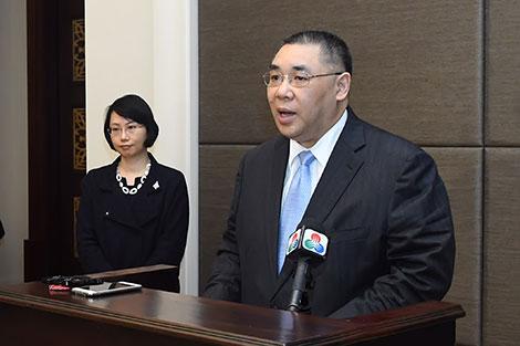"""Macau and Fujian take part in the """"One Belt, One Road"""" initiative"""