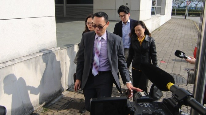 Ex-prosecutor's lawyer quits trial