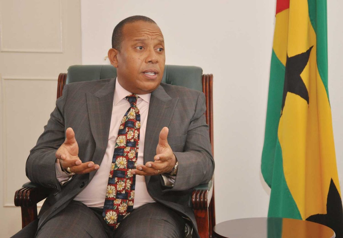 Exclusive interview with Patrice Emery Trovoada, Prime Minister of São Tomé and Príncipe