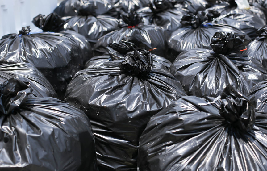 Newborn boy found inside backpack in rubbish pile