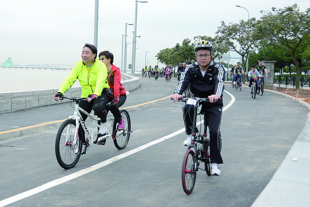 Government plans 6km long Taipa-Coloane cycle track