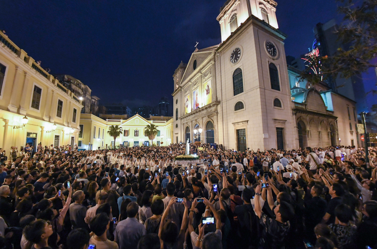 100th anniversary of the apparition of the Virgin Mary in Fatima celebrated in Macau