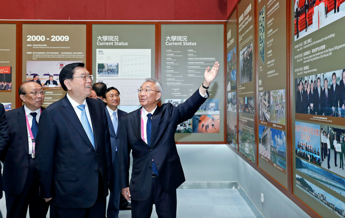 Zhang encourages students with '3 hopes'