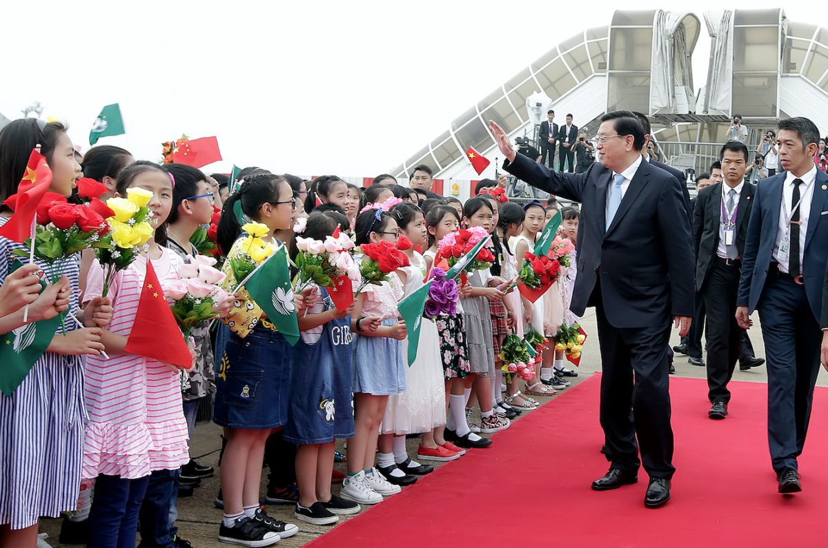Zhang urges Macau to keep being 'good role model'