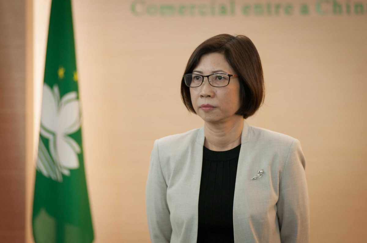 Mok Iun Lei appointed coordinator of the Support Office of the Forum Macao