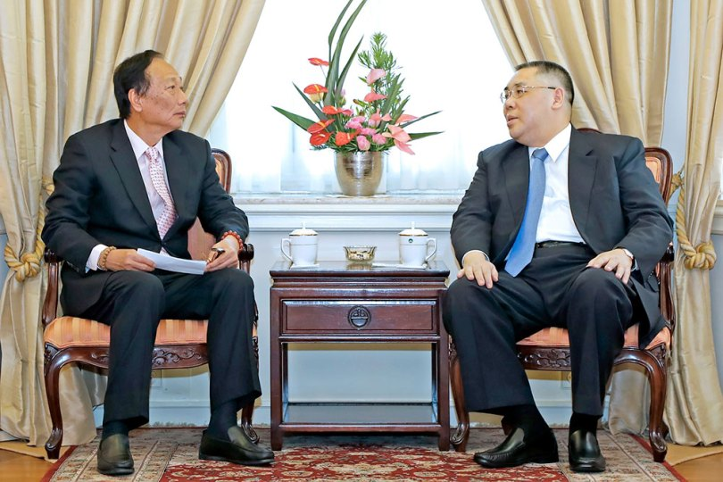 President of Foxconn considers cooperation with Macau