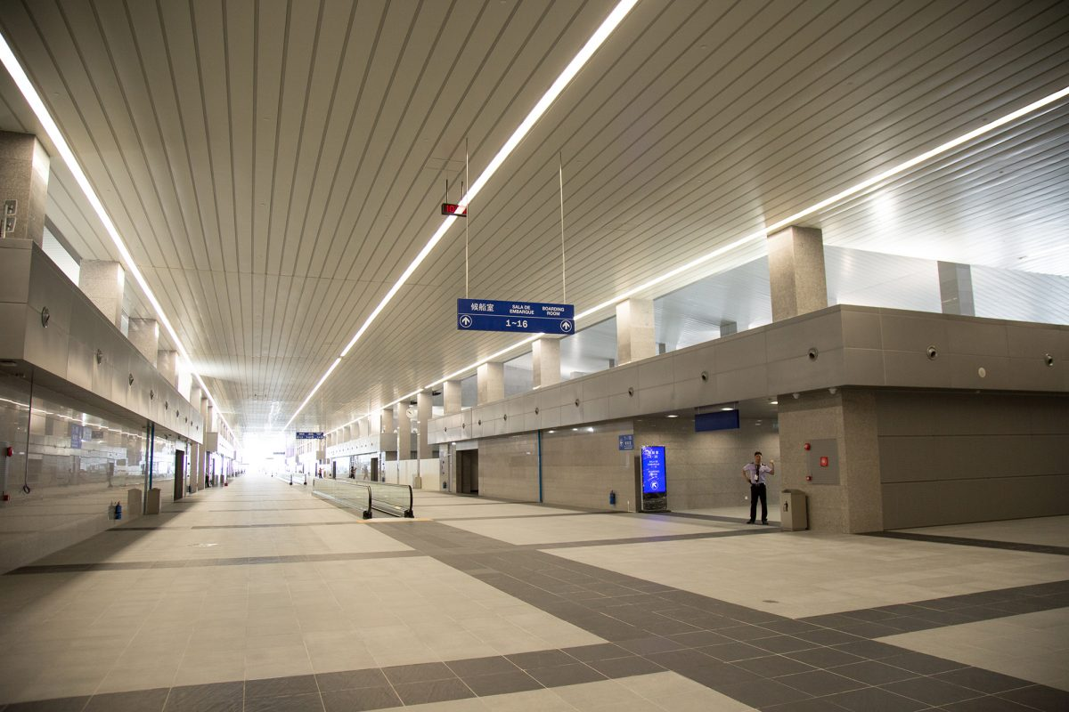 Taipa ferry terminal shops to open in September