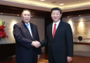 Chui Sai On meets Xi Jinping