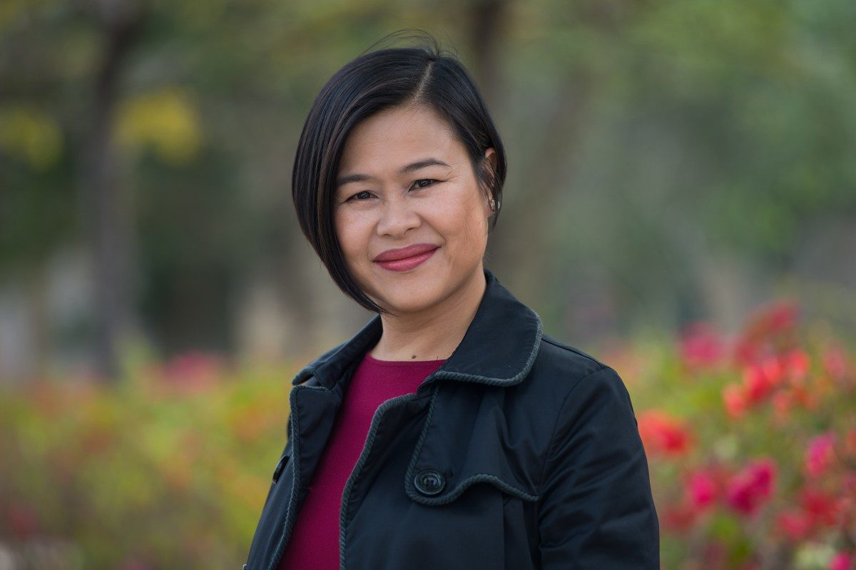 Scholar says she will be middle-of-the-road-lawmaker