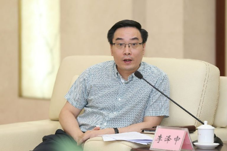 Zhuhai mayor Li Zezhong