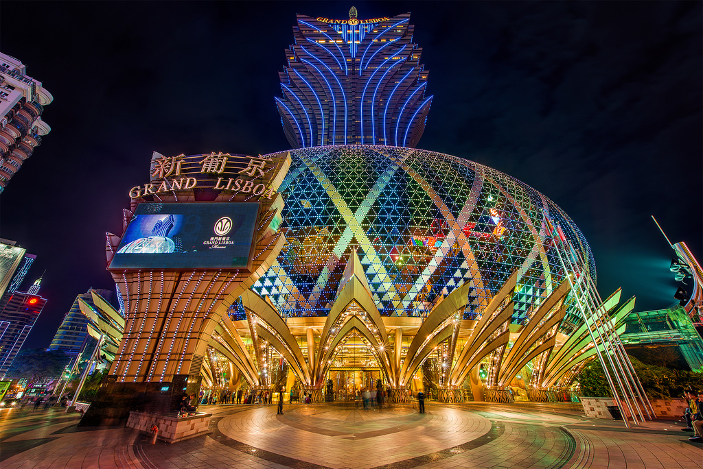 Macau casinos with gross revenue of US$2.834 billion in August