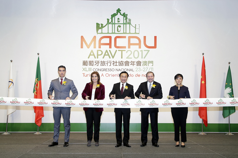 Macau is platform for Chinese, Portuguese travel trades: Tam