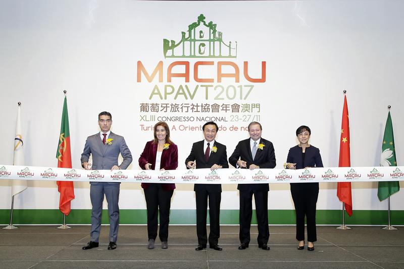 Macau is platform for Chinese, Portuguese travel trades: Tam