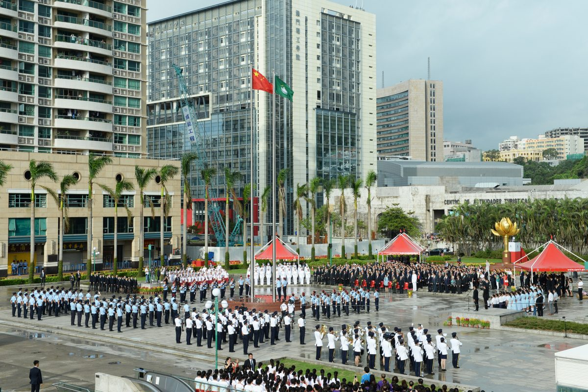 People in Macau and Hong Kong who disrespect the Chinese national anthem or flag may face jail term