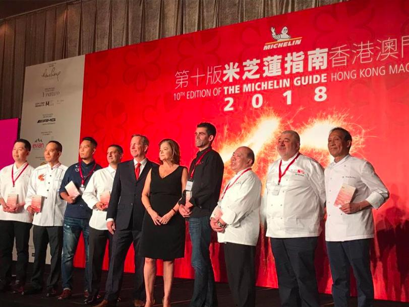 18 Macau eateries retain Michelin stars