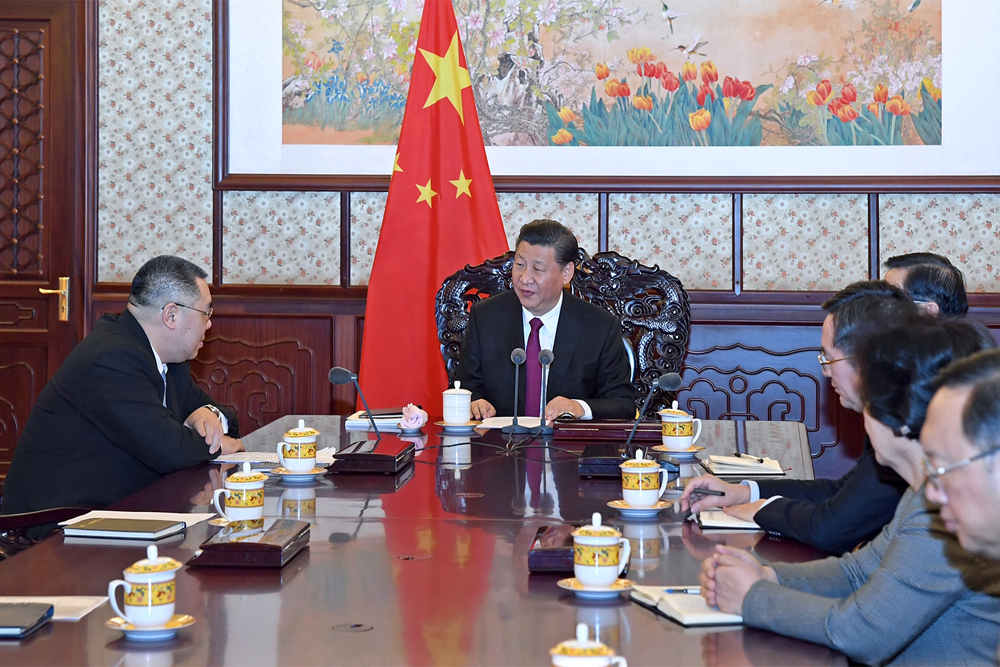 President Xi calls on Macau to keep advancing 'one country, two systems' policy