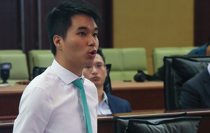 Lawmaker Sulu Sou appeals to court for annulment of Legislative Assembly mandate suspension