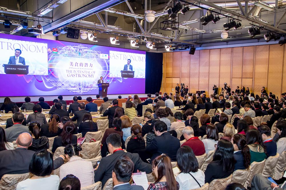Macau holds int'l gastronomy forum