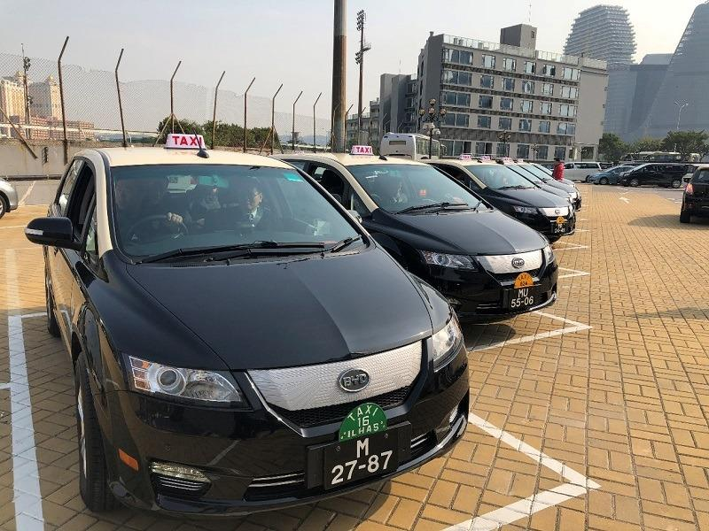 City's 1st fleet of green taxis launched