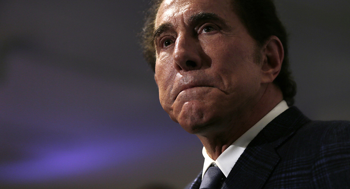 Steve Wynn Resigns From Company Amid Sexual Misconduct Allegations
