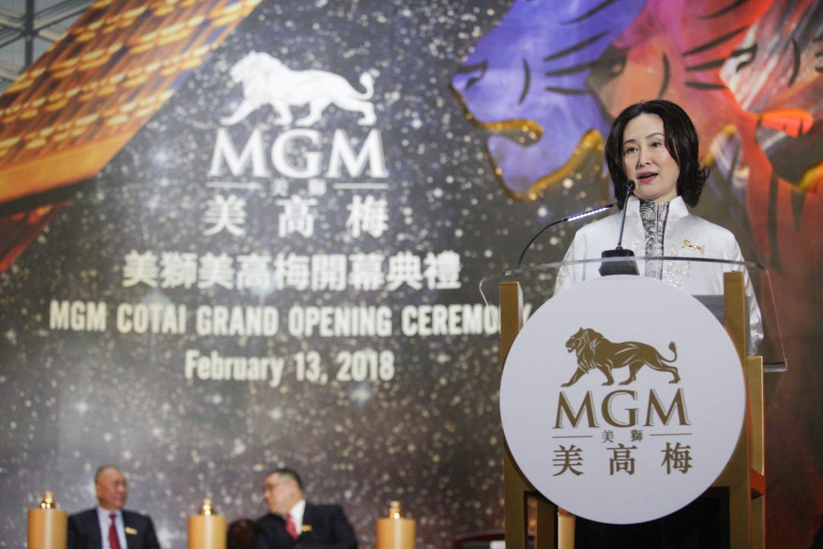 MOP 27 billion MGM Cotai opens in Macau