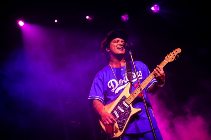 Bruno Mars Shows His Golden Touch at 24K Magic World Tour in Macau