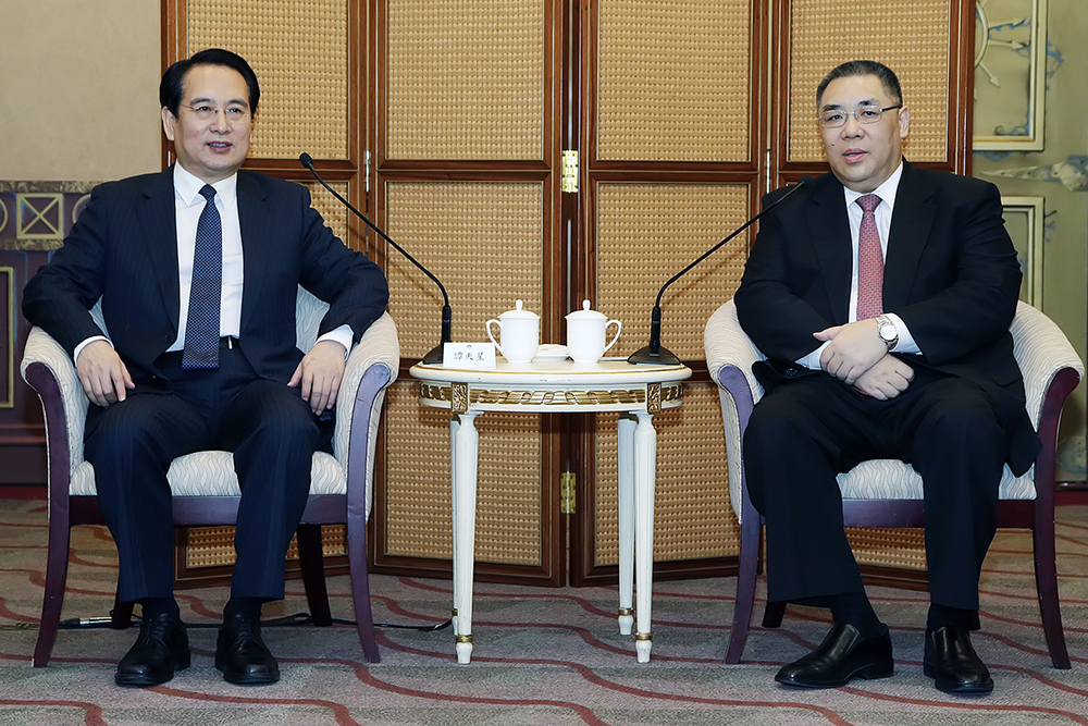 United Front vice-chief stresses Macau's national development integration