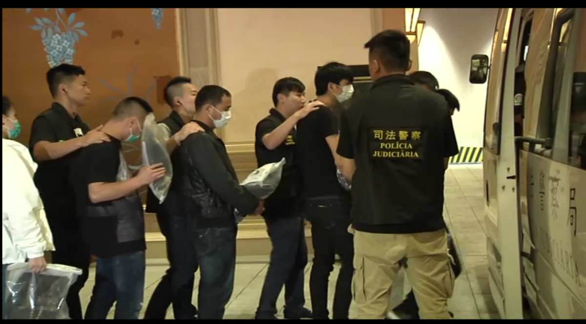 Police nab 110 illegal casino money changers and other rogues
